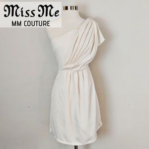 Miss Me • MM Couture • Cream White Dress [Dresses]